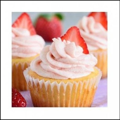 Buttercream Morango, 250gr