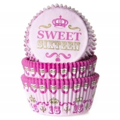 Cópia de Cópia de Formas Mini Cupcake Fushia, pk/60