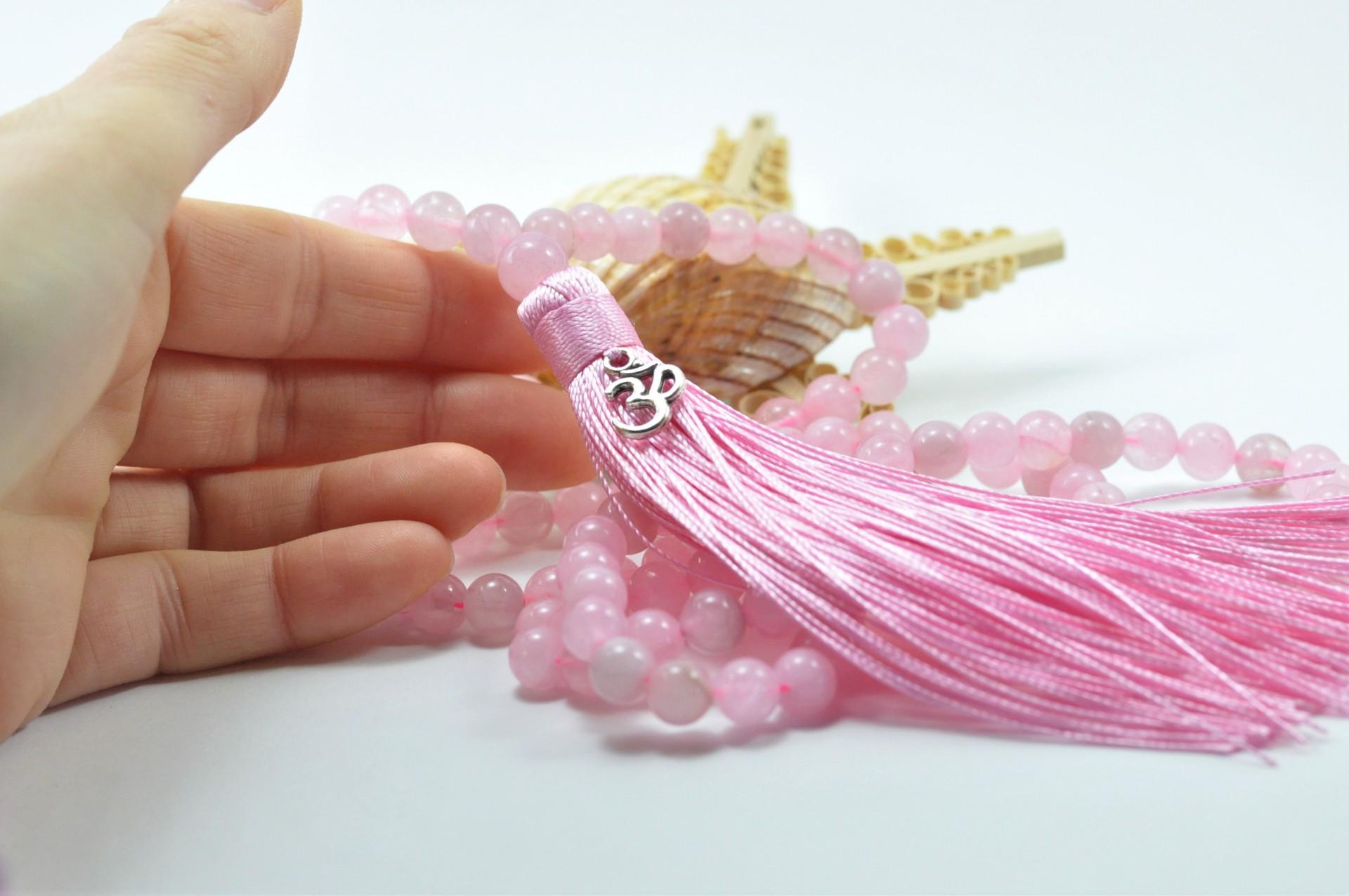 Pedra Cristal Quartzo Rosa