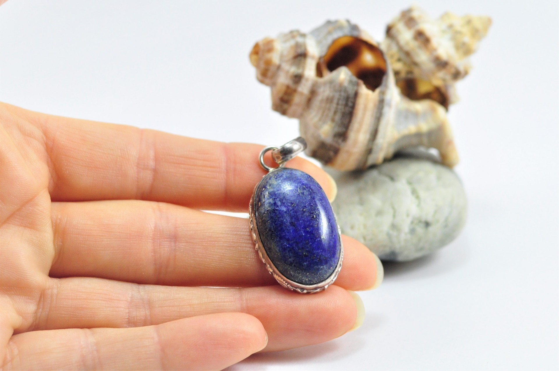 Pendente em Prata Lapis Lazuli