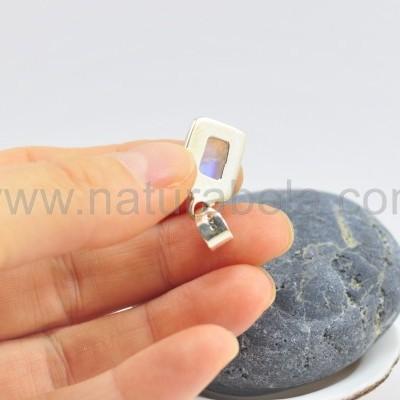 Pendente em Prata Pedra da Lua Extra