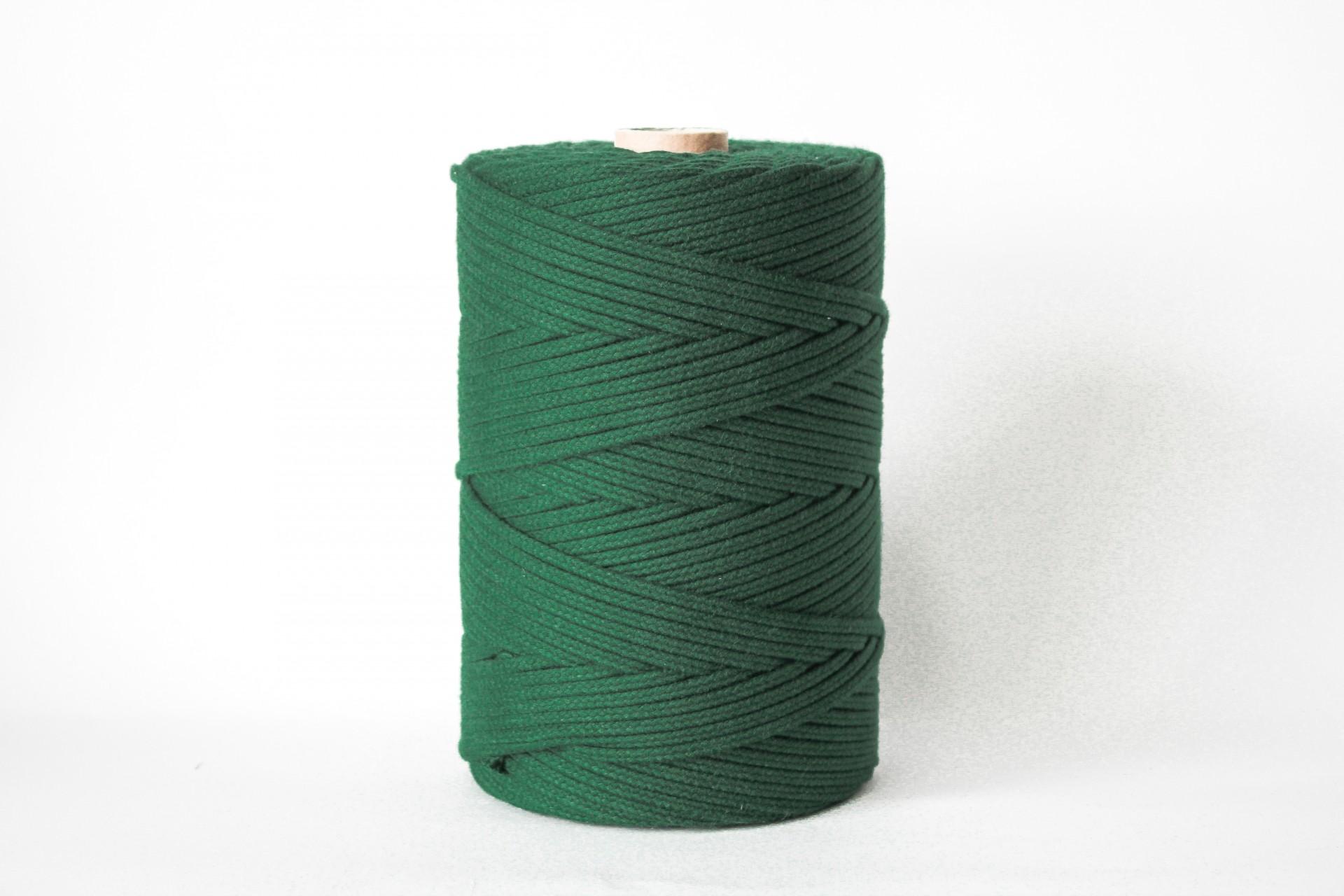 Fio Entrançado Algodão 4mm Verde