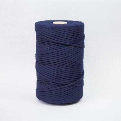 Fio Entrançado Algodão 4mm Azul Marinho