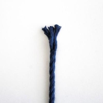 Fio Torcido Algodão Azul Marinho