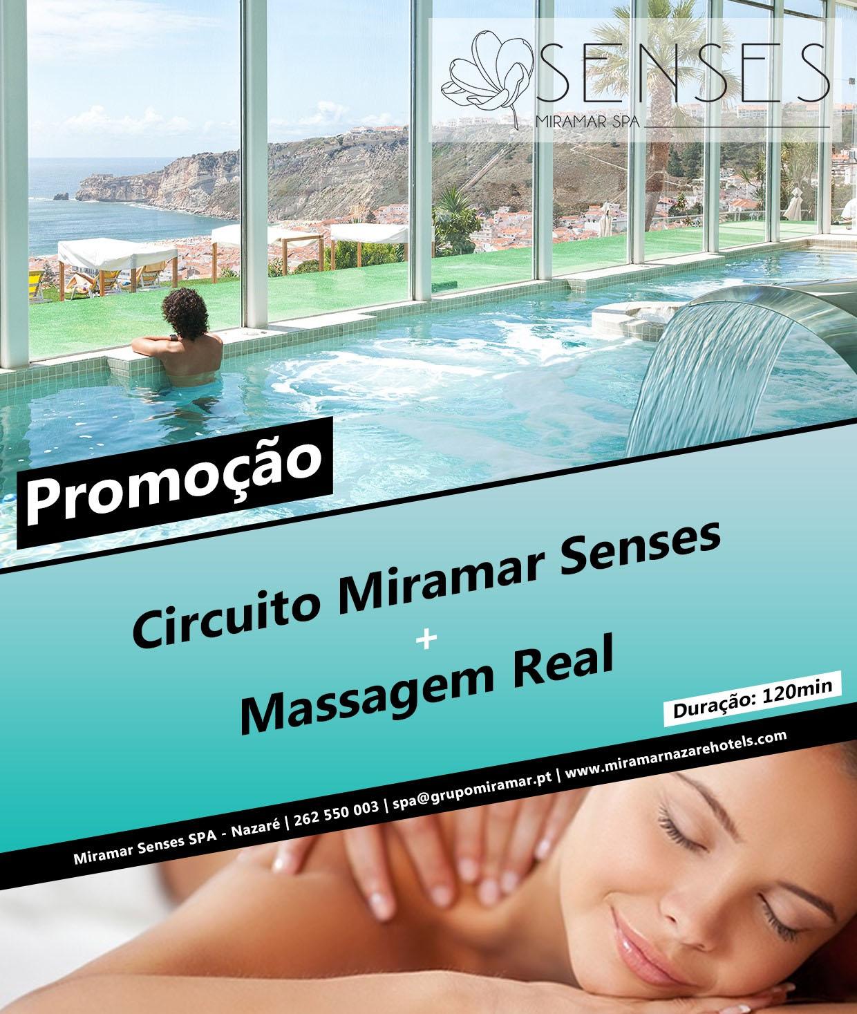 Circuito Miramar Senses SPA + Massagem Real