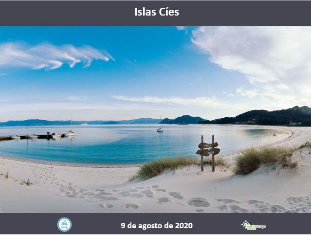 Transporte   Guias   Seguro - Islas Cíes 9 de Agosto