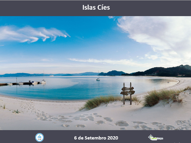 Autocarro   Bilhete Barco   Guias   Seguro - Islas Cíes 6 de setembro