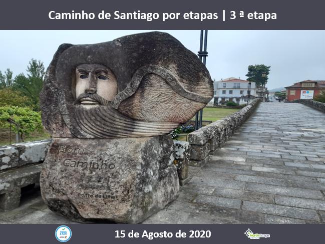 Caminho de Santiago por etapas - 3 ª etapa - Credencial | Guias | Seguro | Transporte