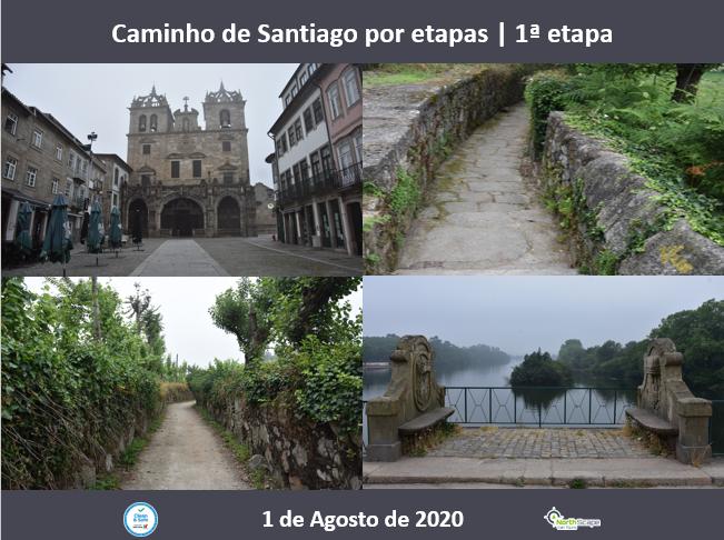 Caminho de Santiago por etapas - 1ª etapa - Credencial | Guias | Seguro | Transporte