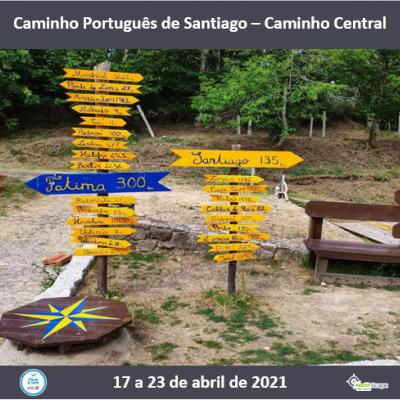 Caminho Português de Santiago - Caminho Central | Guias | Seguros |Transporte | Alojamento | Credencial
