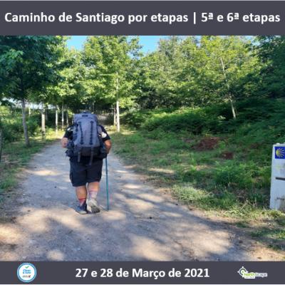 Caminho de Santiago por etapas - Caminho Central 5ª e 6ª etapas | Credencial | Guias | Seguro | Transporte | Alojamento