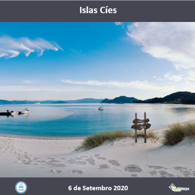 Autocarro | Bilhete Barco | Guias | Seguro - Islas Cíes 6 de setembro