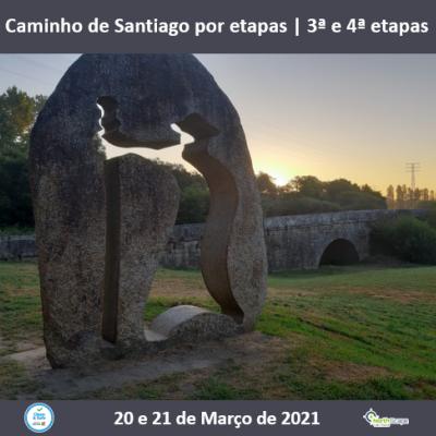 Caminho de Santiago por etapas - Caminho Central  3ª e 4ª etapas | Credencial | Guias | Seguro | Transporte | Alojamento