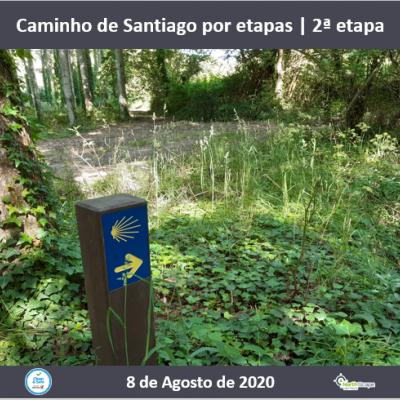 Caminho de Santiago por etapas - 2 ª etapa - Credencial | Guias | Seguro | Transporte