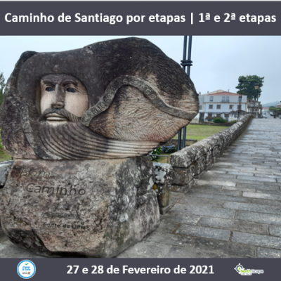 Caminho de Santiago por etapas - Caminho Central 1ª e 2ª etapas | Credencial | Guias | Seguro | Transporte | Alojamento