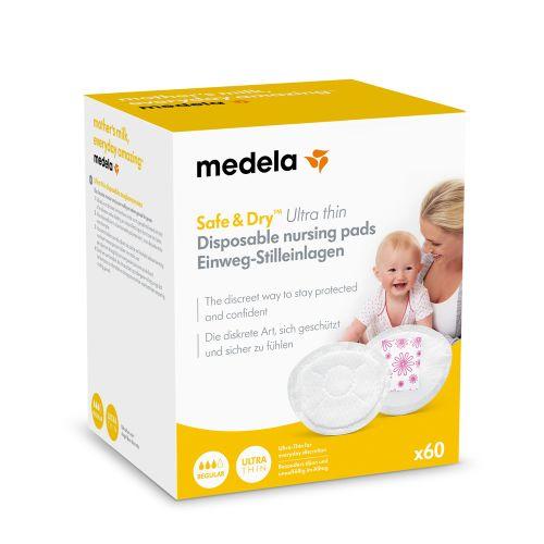 Medela - Protetores de seios descartáveis Safe & Dry™ x60
