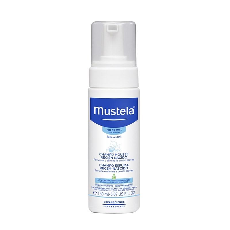 Mustela - Champô Espuma Recém-nascido 150 ml