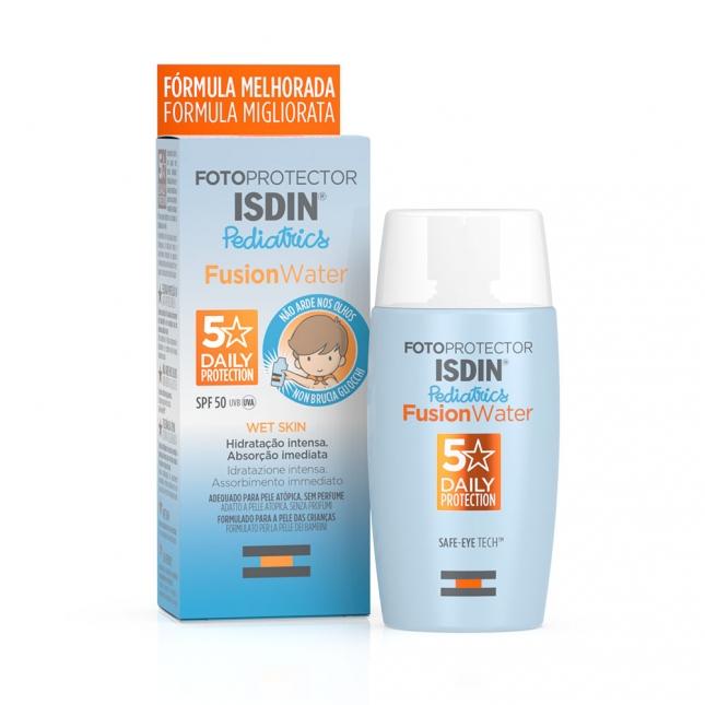 Isdin - Fotoprotetor Pediatrics Fusion Water SPF50+ 50ml