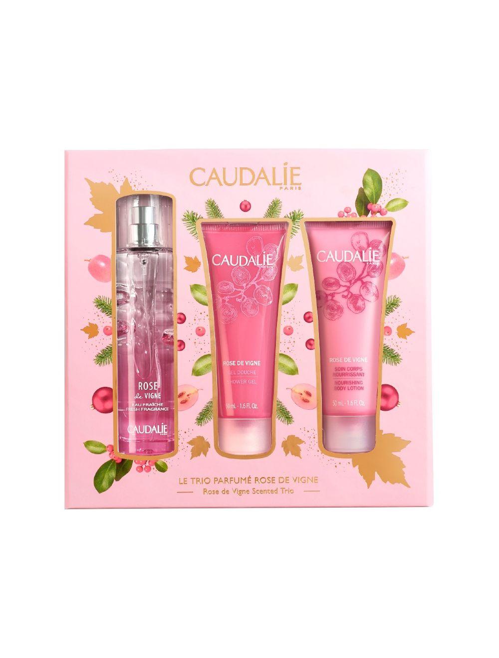 Caudalie - Coffret Trio Perfumado Rose de Vigne