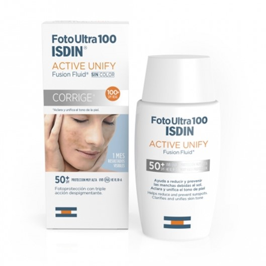 Isdin - Foto Ultra 100 Active Unify FPS 50+ Sem Cor 50ml