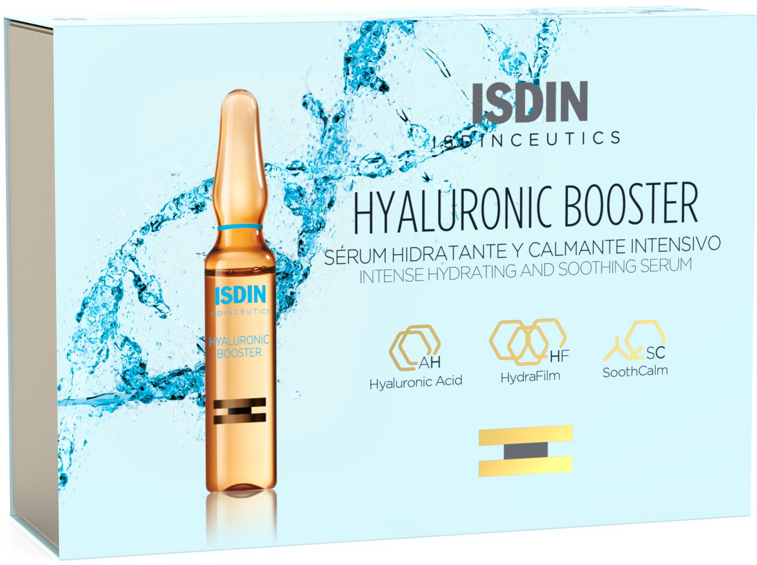 Isdinceutics - Hyaluronic Booster Sérum Hidratante 10 Ampolas x 2ml