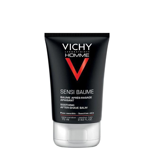 Vichy Homme - Sensi-Baume Bálsamo Mineral Após Barbear Fortificante 75ml