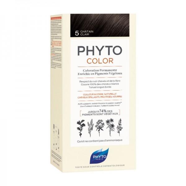 Phyto Phytocolor Coloração Permanente 5 Castanho Claro