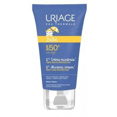 Uriage - Bebé 1ère Creme Mineral SPF50+ 50ml