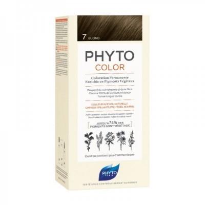 Phyto - Phytocolor Coloração Permanente 7 Louro