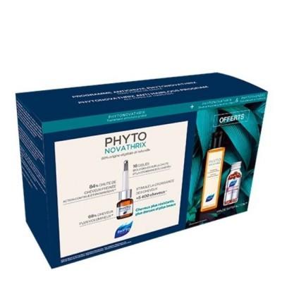 Phyto - Novathrix Anti-Queda Kit Ampolas + Champô + Cápsulas