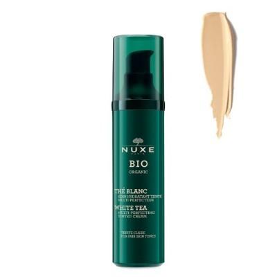 Nuxe - Bio Creme De Cor Hidratante Tom Claro 50ml