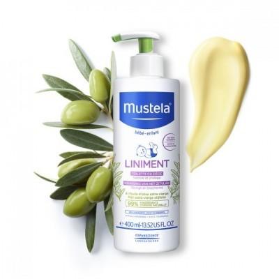 Mustela - Linimento Higiene Zona da Fralda 400 ml