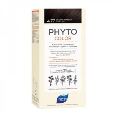Phyto - Phytocolor Coloração Permanente 4.77 Castanho Marron Profundo