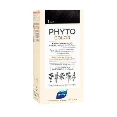 Phyto - Phytocolor Coloração Permanente 1 Preto