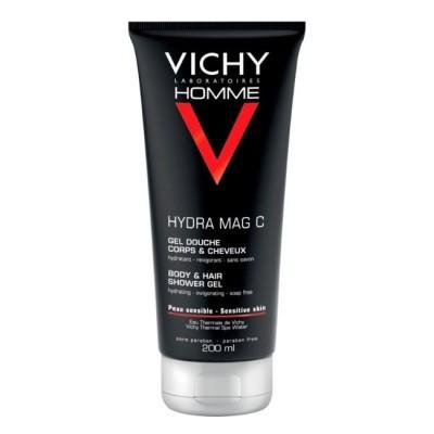 Vichy - Homme Gel Duche Hydra Mag C 200ml