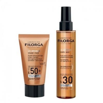 Filorga - Coffret UV Bronze Duo 40ml+150ml