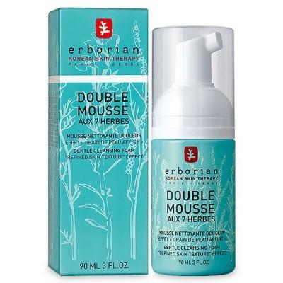 Erborian - Double Mousse aux 7 Herbes Espuma de Limpeza 145ml
