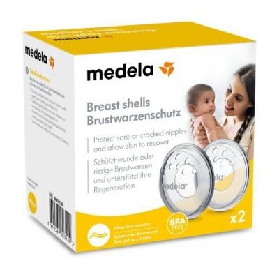 Medela - Protetores de Mamilos de Silicone 2 uds