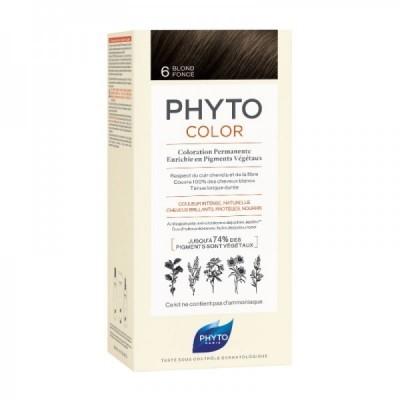 Phyto - Phytocolor Coloração Permanente 6 Louro Escuro