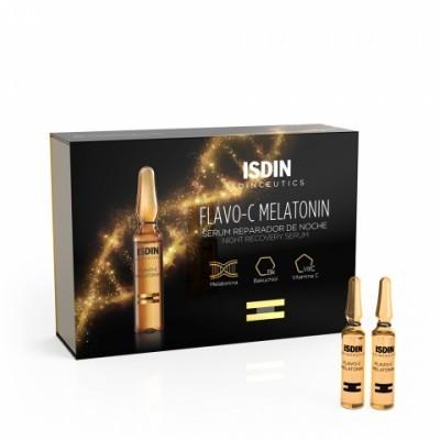 Isdin - Isdinceutics Flavo-C Melatonin Sérum reparador de Noite 10x2ml