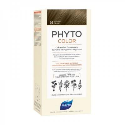 Phyto -Phytocolor Coloração Permanente 8 Louro Claro