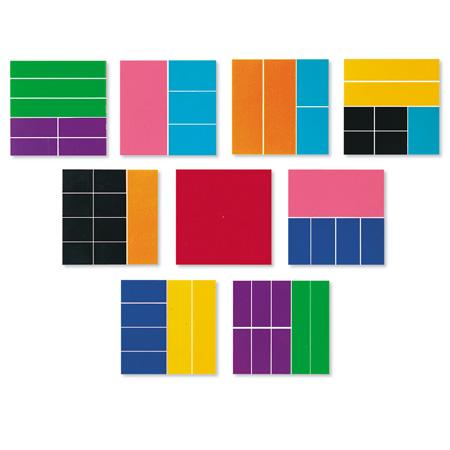 Frações quadradas Deluxe