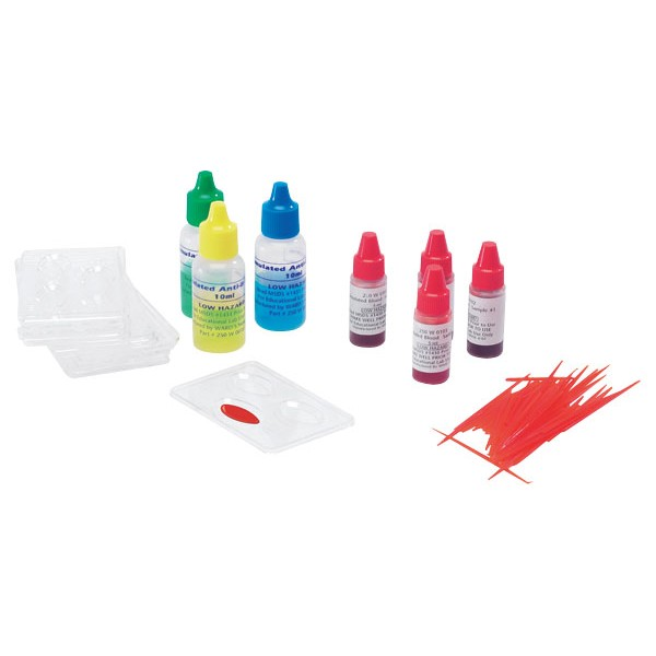 Kit Grupo de Sangue