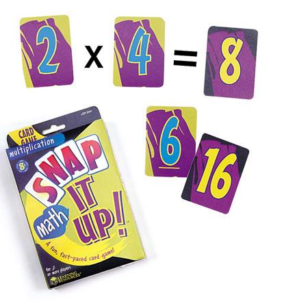 Jogo das Cartas -  Multiplicação