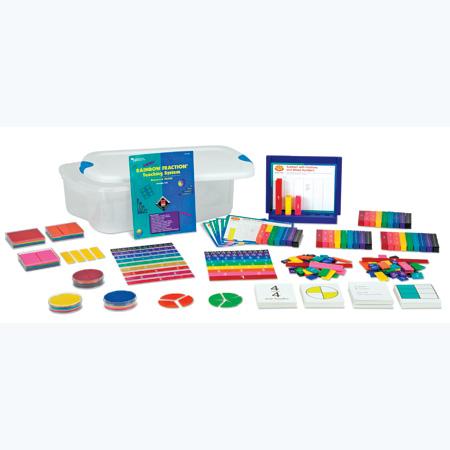 Conjunto de frações coloridas
