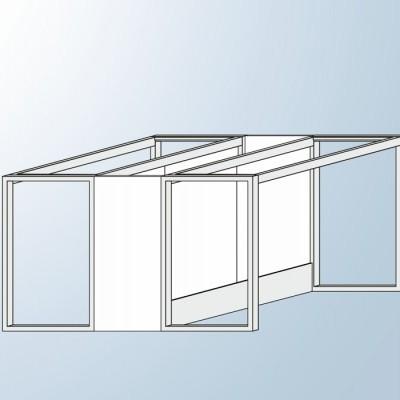Estrutura Metálica Central Tipo O