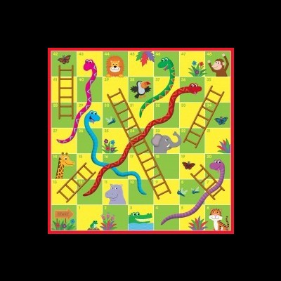 Puzzle Sol - Cobras e Escadas