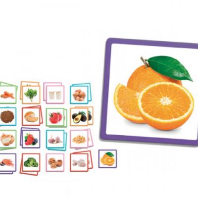 Jogo de reconhecimento - Alimentos
