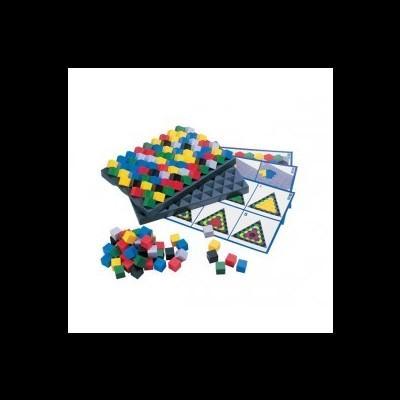 Pirâmides de cores