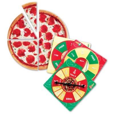 Frações de pizzas ( junior)